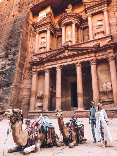 Itinerario di 2 giorni a Petra-facciata-del-tesoro-petra
