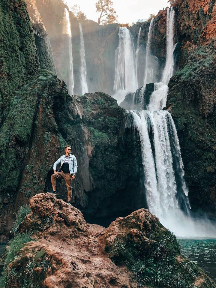cascate di Ouzoud-lorenzo-davanti-cascate
