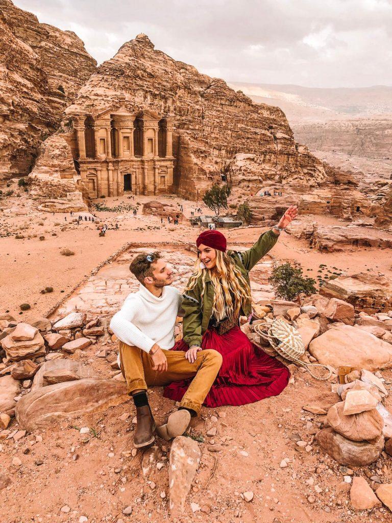 Itinerario di 2 giorni a Petra-monastero-petra