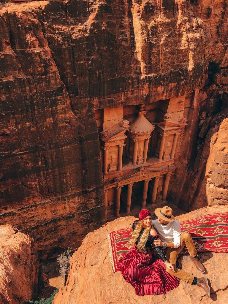 come vestirsi a Petra