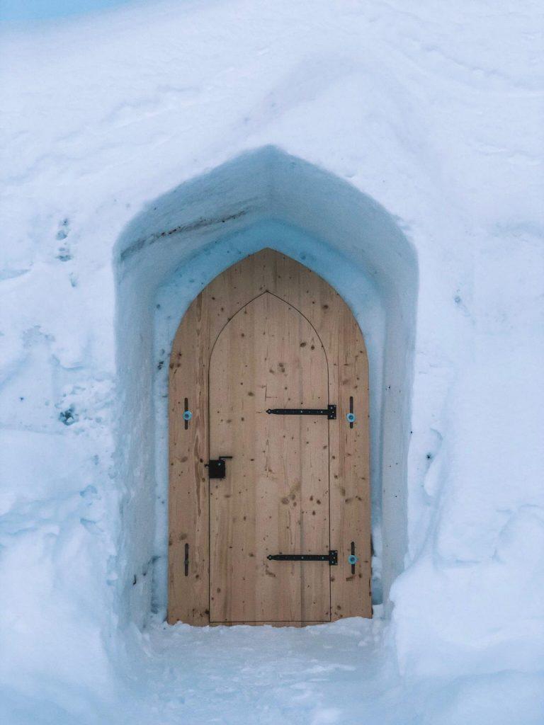 dormire in un igloo-porta-igloo