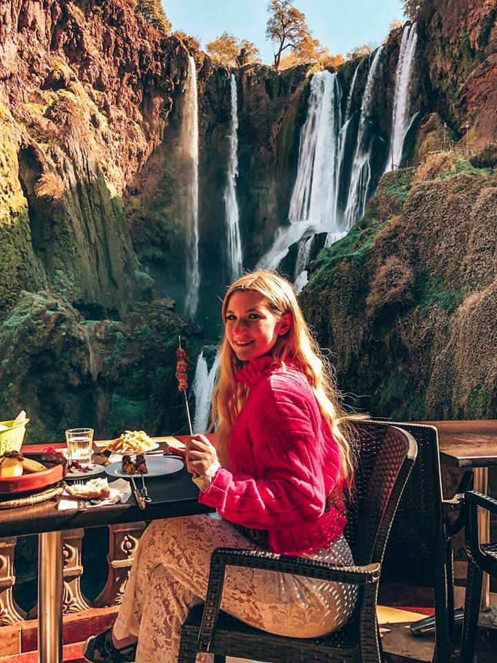 cascate di Ouzoud-pranzo-azilal