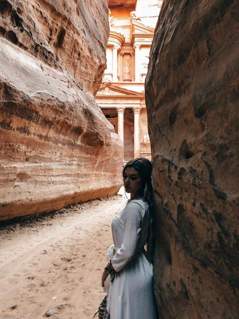 Itinerario di 2 giorni a Petra-scorcio-Tesoro