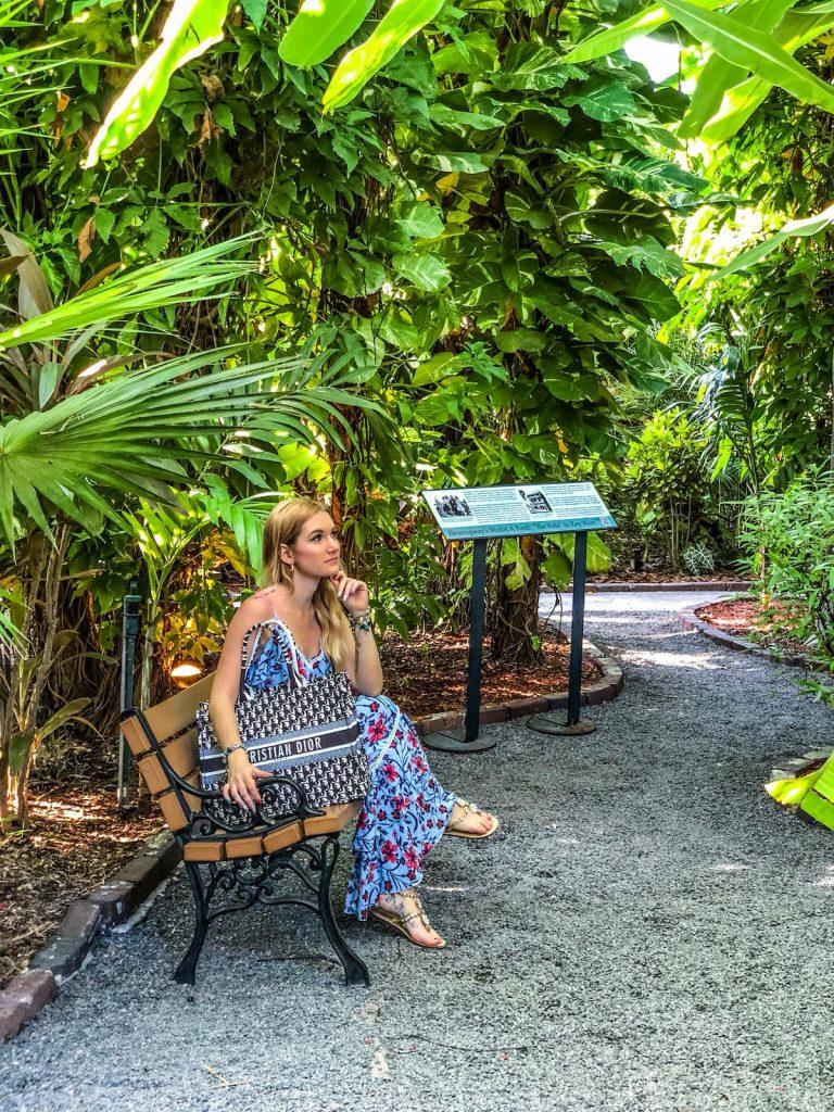 Key West in un giorno-giardino-casa-hemingway
