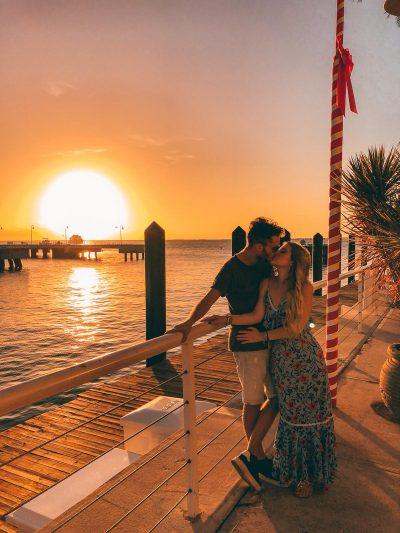Key West in un giorno-tramonto
