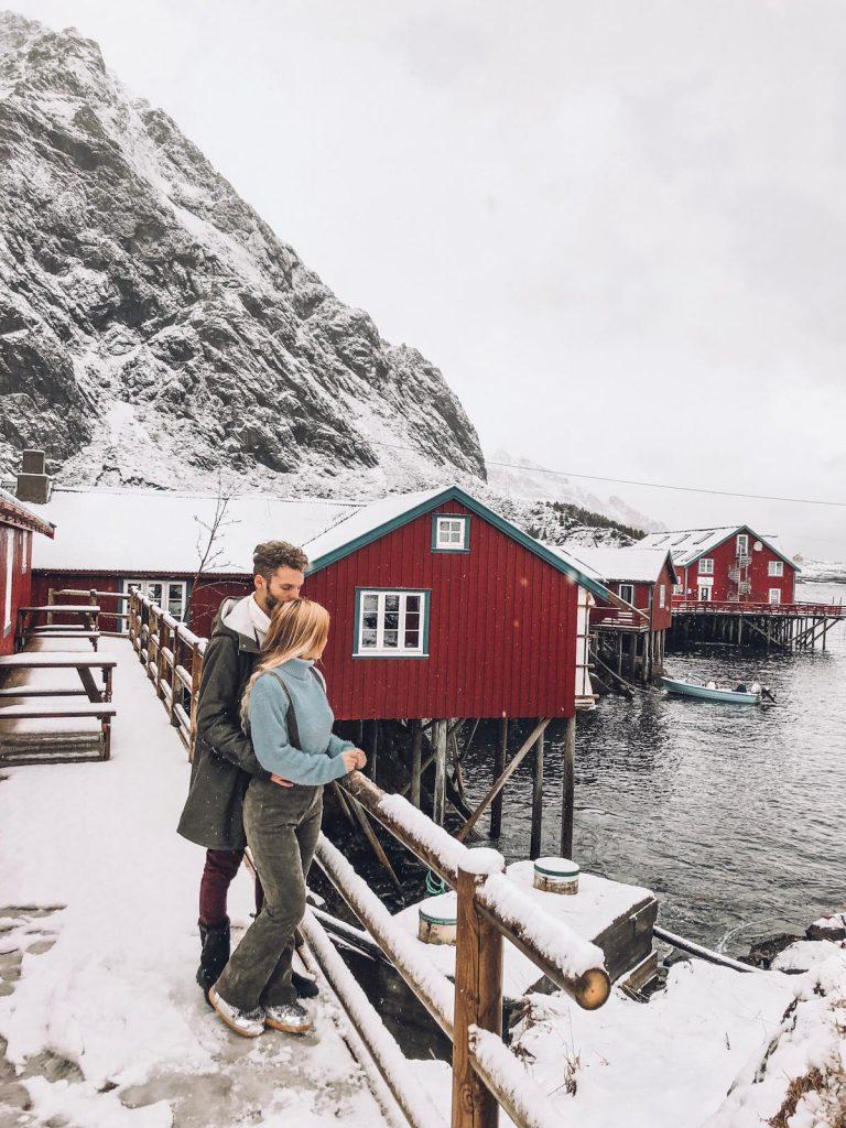 luoghi più instagrammabili delle isole Lofoten-rorbuer