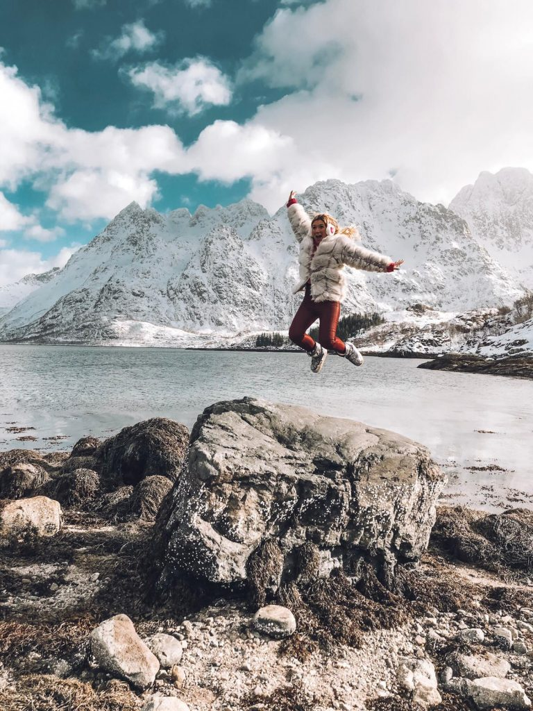 cosa fare alle Lofoten in inverno-sara-salta