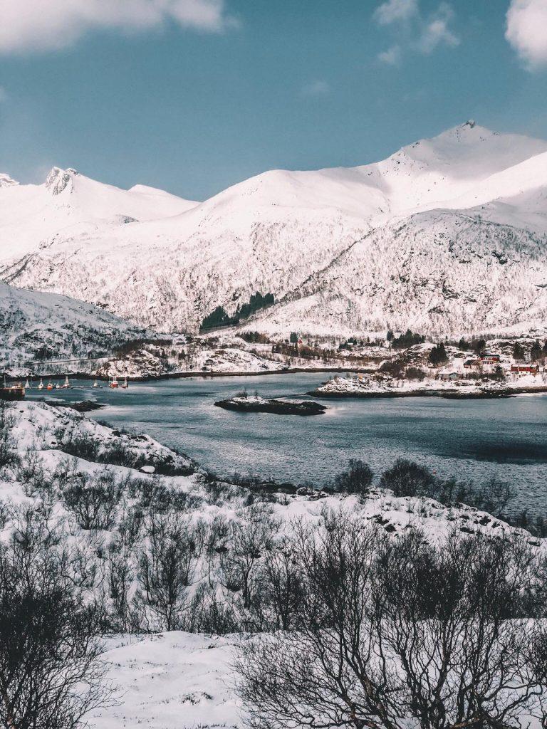 cosa fare alle Lofoten in inverno-fiordi