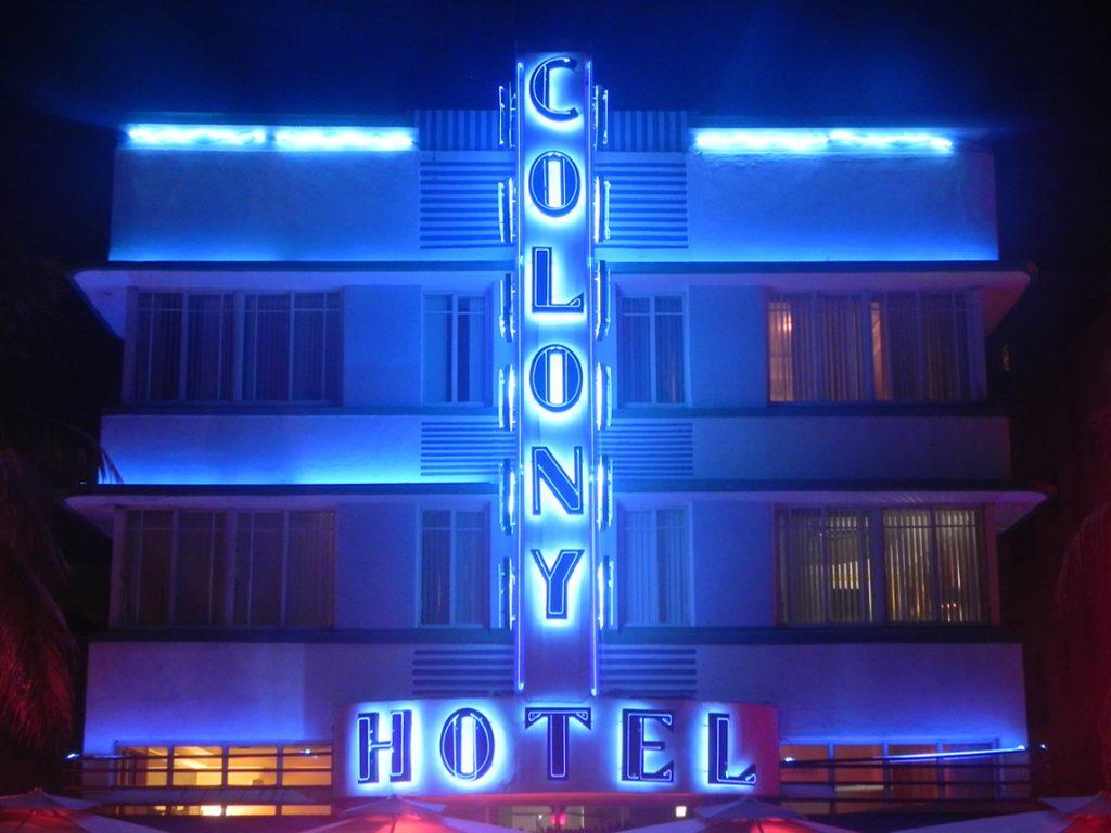 luoghi più instagrammabili di Miami-colony-hotel