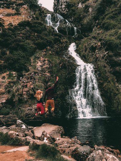 Conte di Donegal-cascate-di-assaranca
