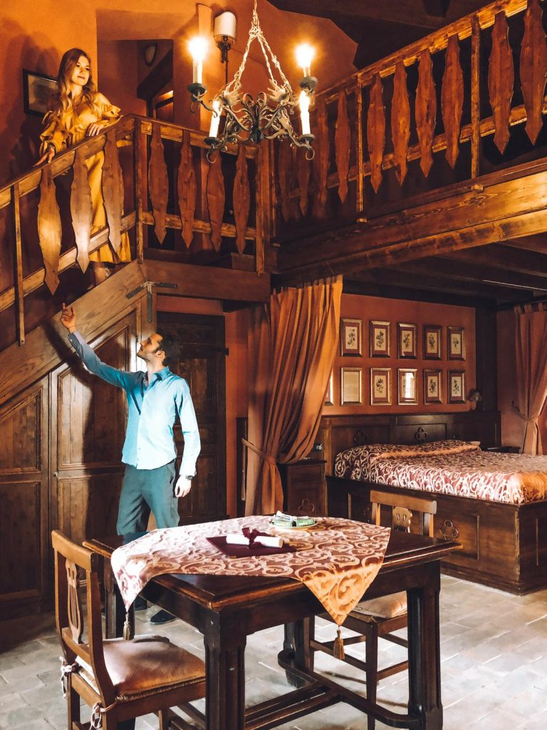 dormire in un castello