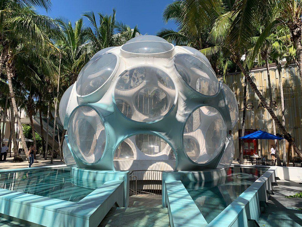 luoghi più instagrammabili di Miami-fly's-eye-dome