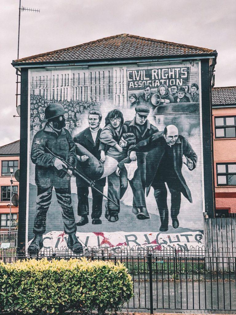 murales di Derry