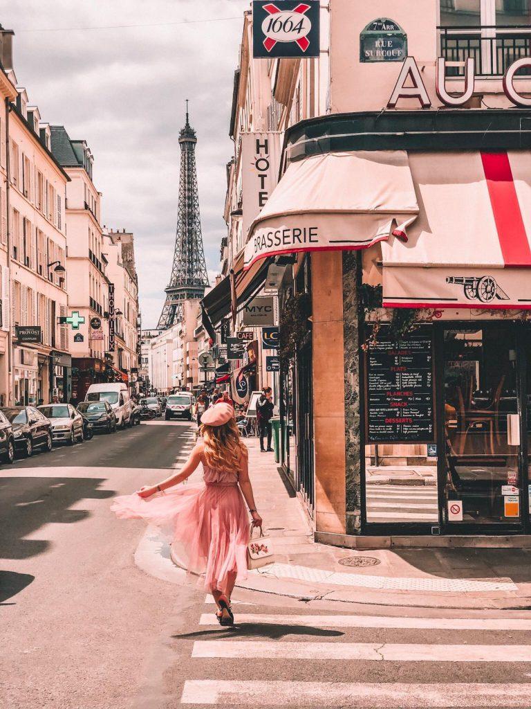 migliori location da cui fotografare la Tour Eiffel-brasserie-au-canon