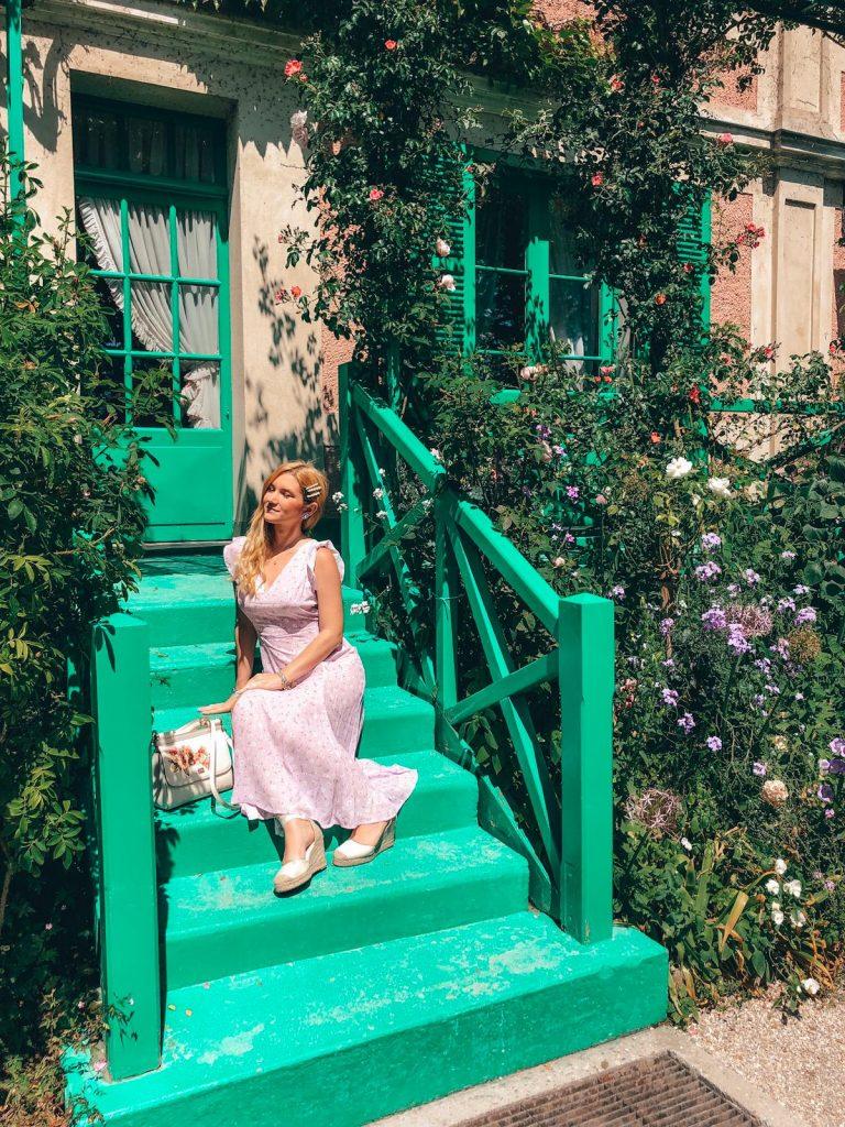 Giardini di Monet a Giverny-esterno-casa-monet