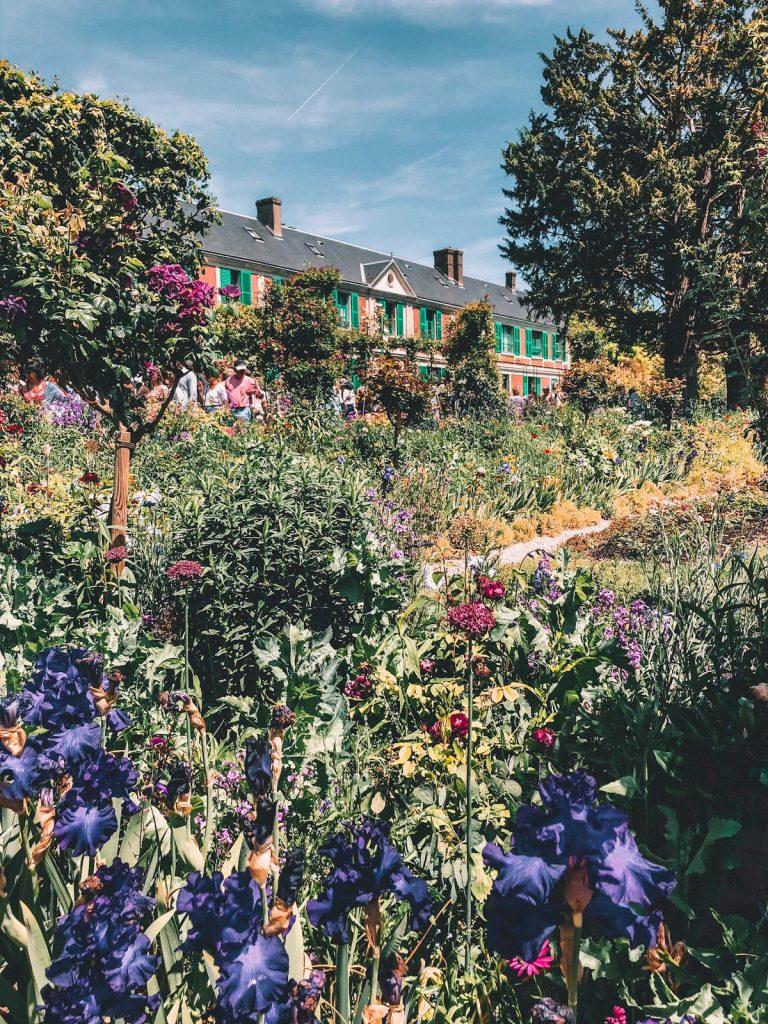 Giardini di Monet a Giverny-esterno casa-monet