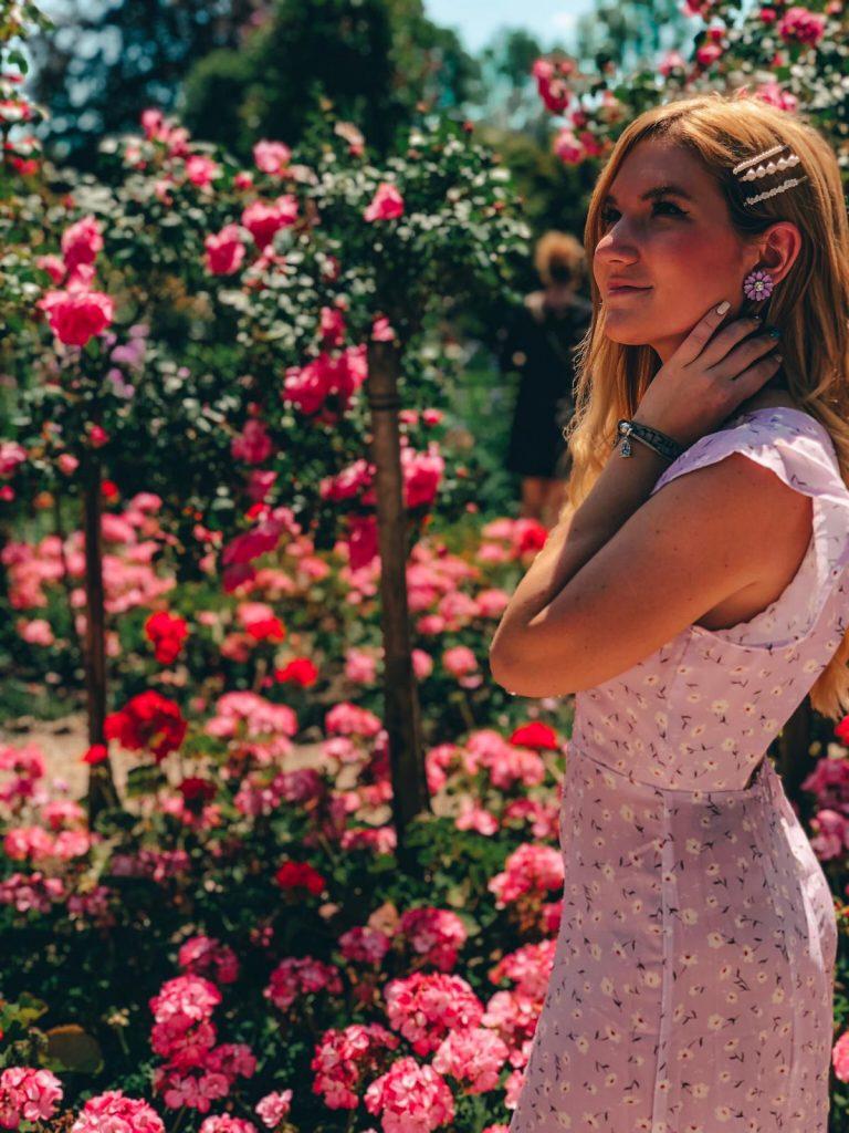 Giardini di Monet a Giverny-roseto-giardini-monet