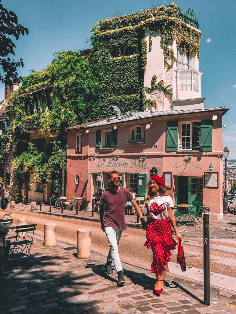 luoghi instagrammabili a Parigi-la.maison-rose