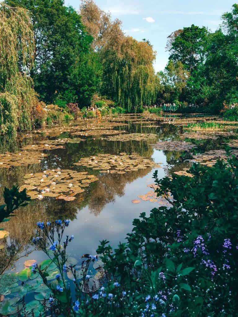 Giardini di Monet a Giverny-lago-ninfee