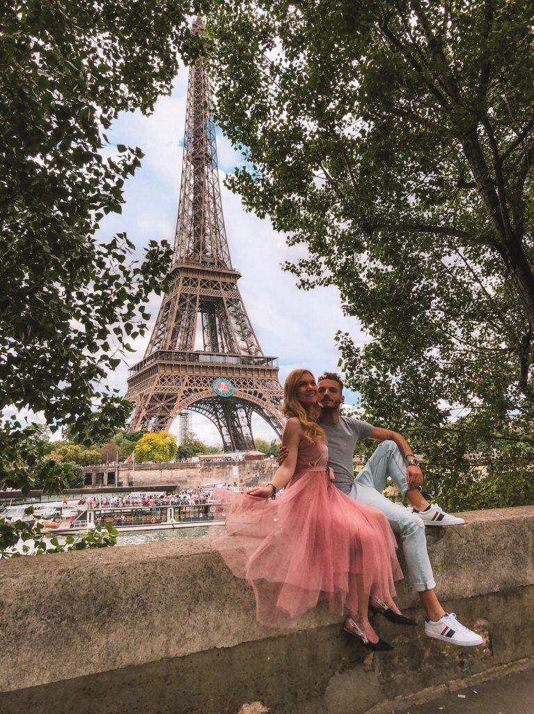 migliori location da cui fotografare la Tour Eiffel-senna