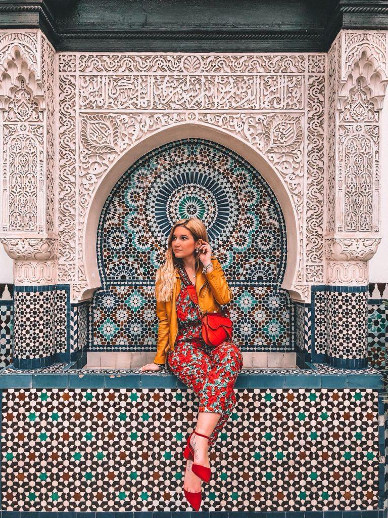 luoghi instagrammabili a Parigi-moschea-parigi