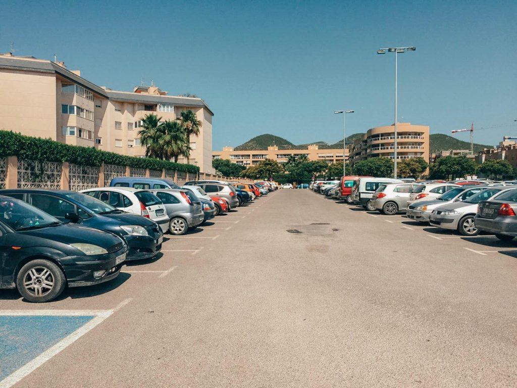 parcheggi gratuiti a Ibiza-multicines