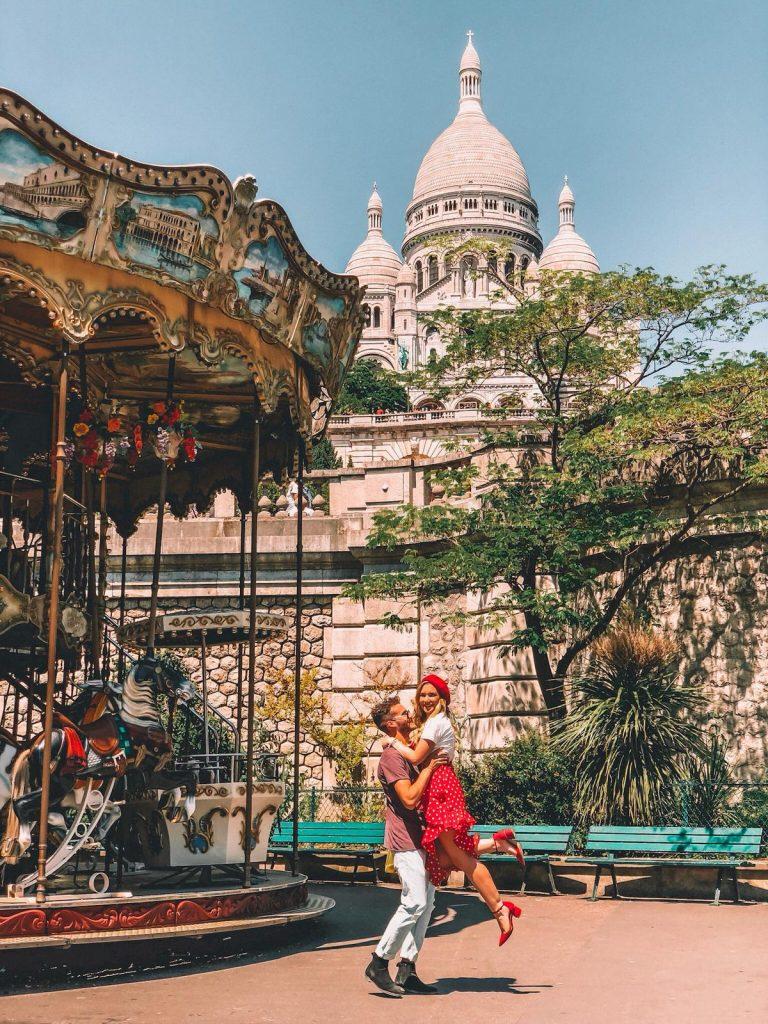 luoghi instagrammabili a Parigi-sacro-cuore