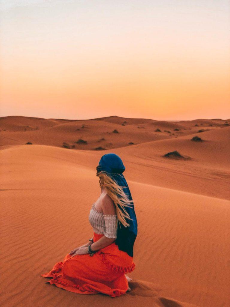 dormire nel deserto in Marocco-sara-deserto