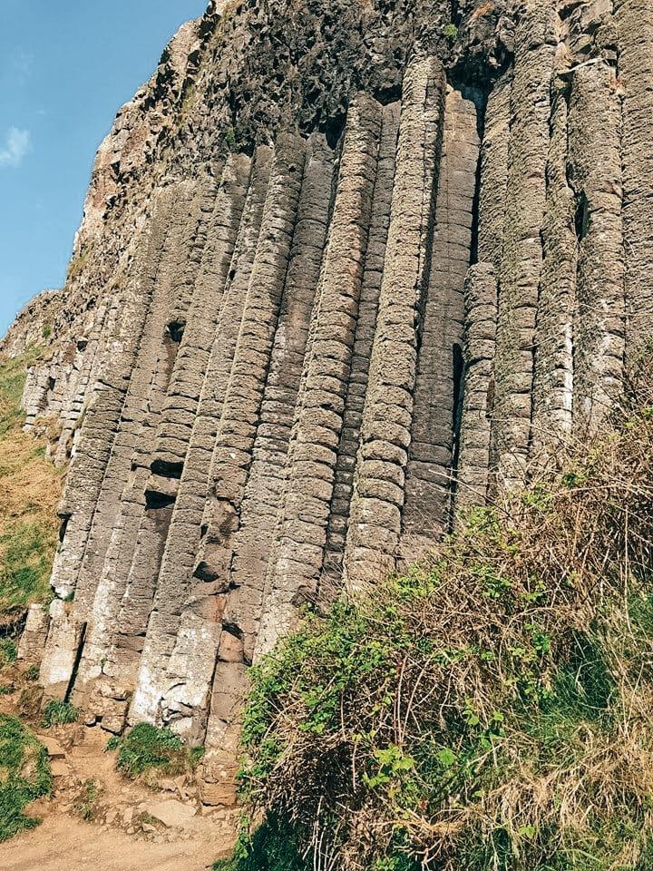 escursione a Giant's Causeway-organo-colonne
