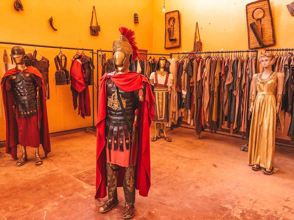 cosa vedere a Ouarzazate-costumi-di-scena