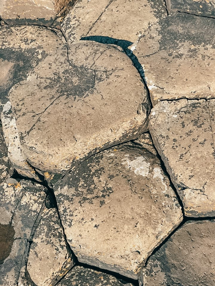 escursione a Giant's Causeway-forma-esagonale