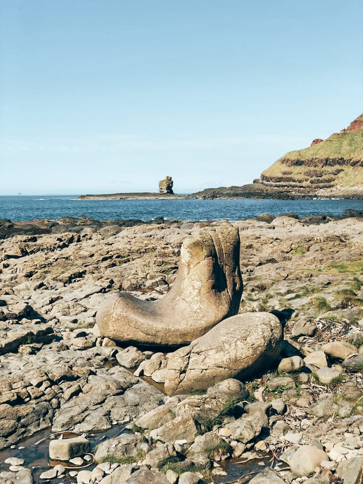 escursione a Giant's Causeway-giant's -boot