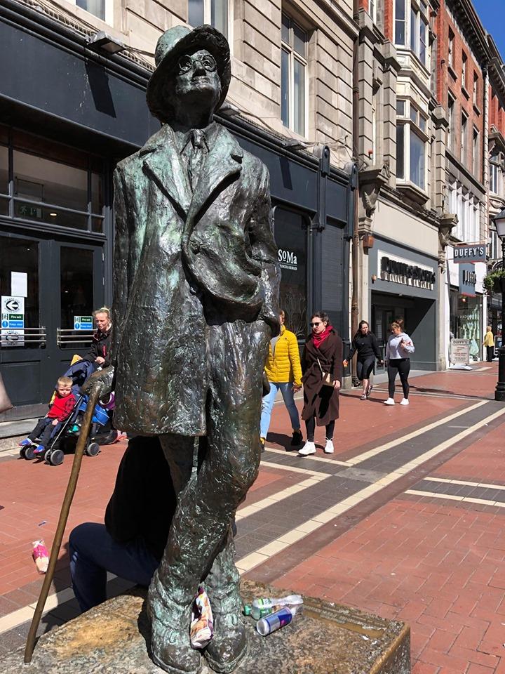 itinerario di Dublino in un giorno-james-joyce