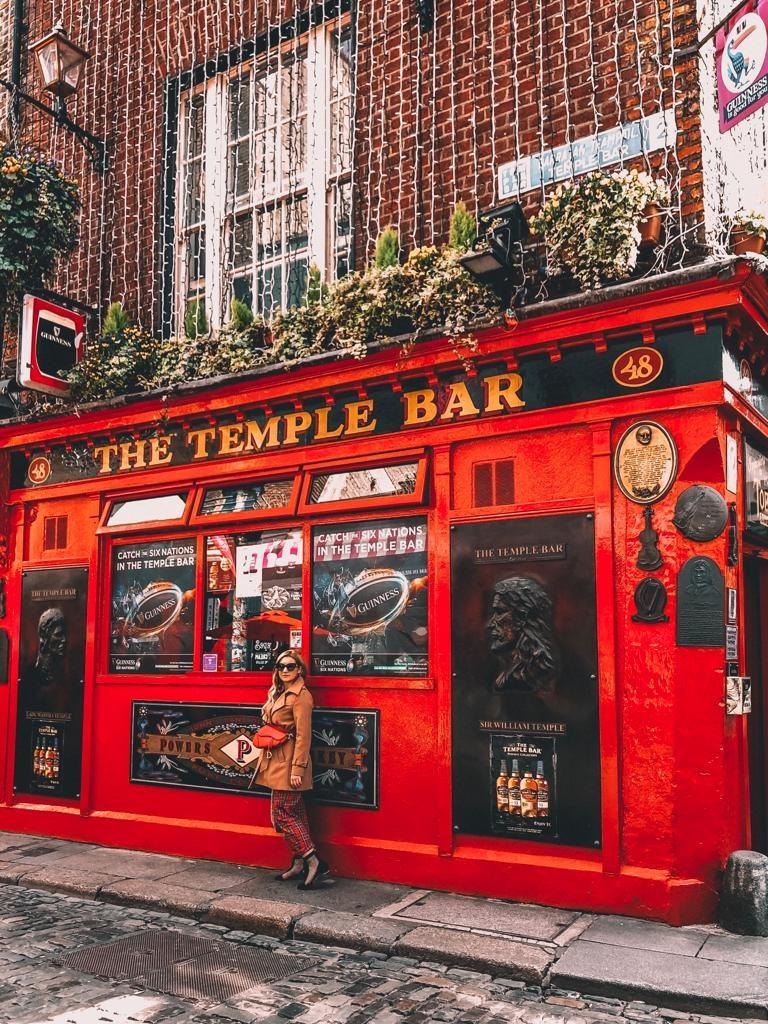 itinerario di Dublino in un giorno-temple-bar-esterno