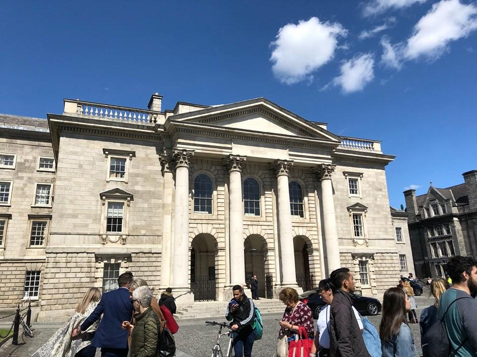 itinerario di Dublino in un giorno-trinity-college