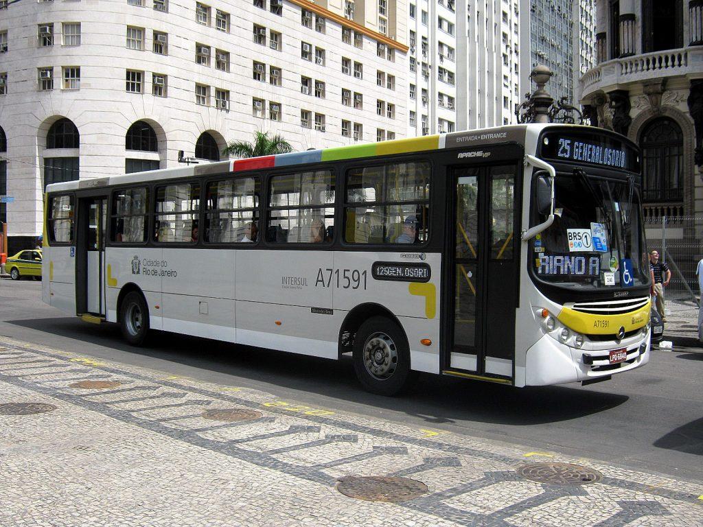 come muoversi a Rio de Janeiro-bus