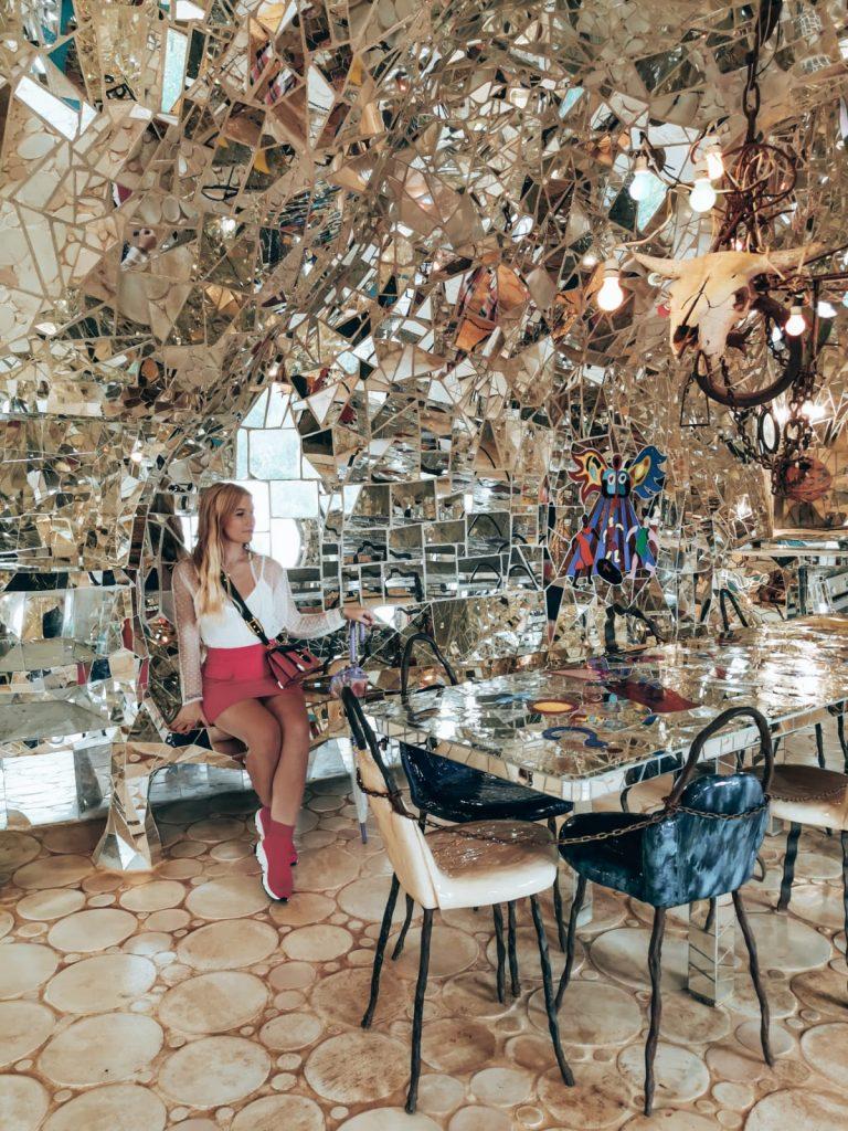 Giardino dei Tarocchi-sara-casa-specchi