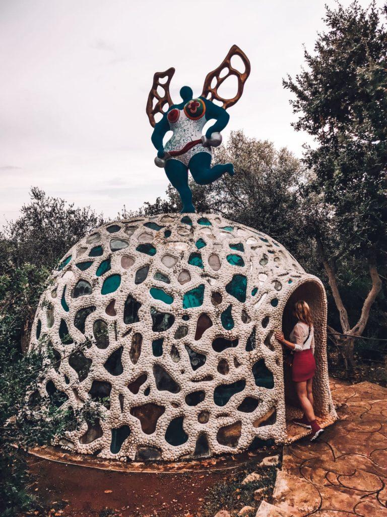 Giardino dei Tarocchi-cupola