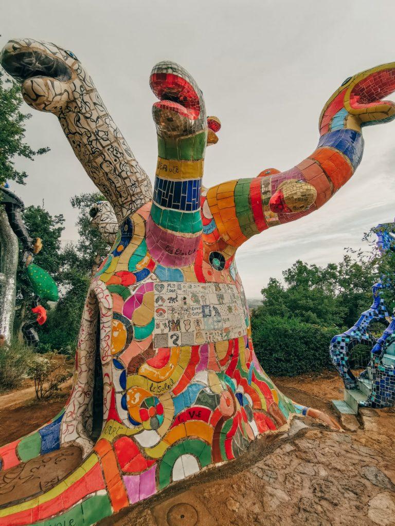 Giardino dei Tarocchi-scultura