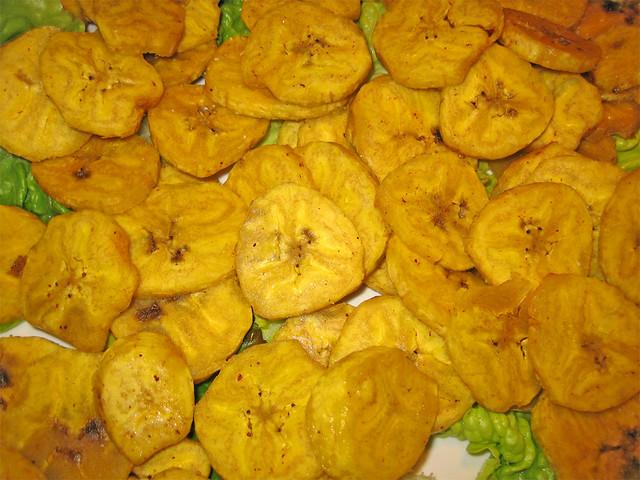 cosa mangiare in Brasile-platano-fritto