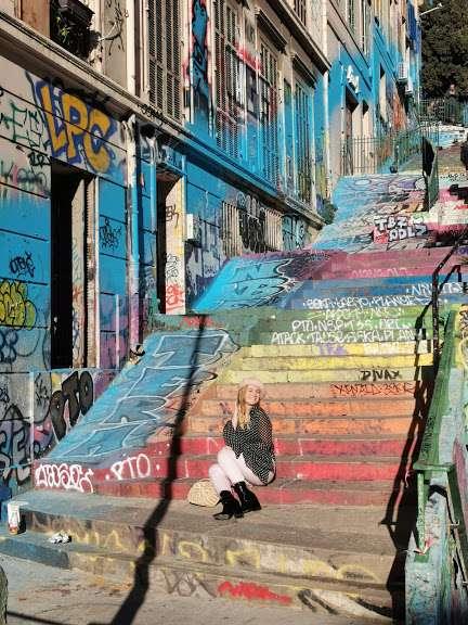 luoghi instagrammabili a Marsiglia-scala-cours-julien