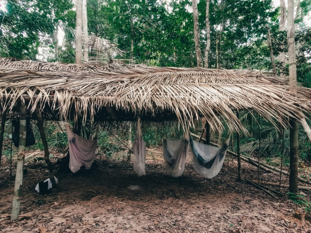 dormire nella foresta amazzonica-palapa