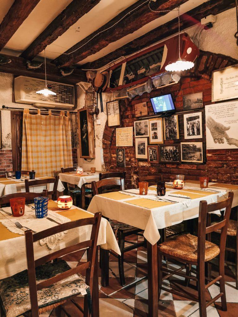 migliore osteria di Venezia-location
