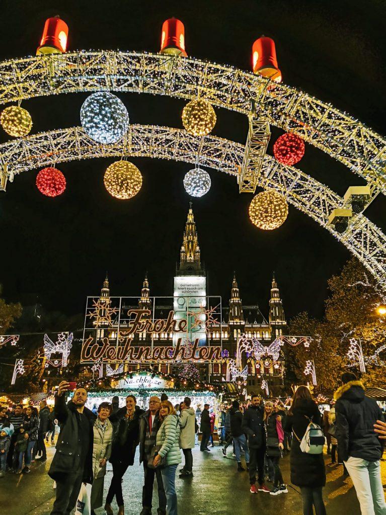 mercatini di Natale a Vienna-rathausplatz