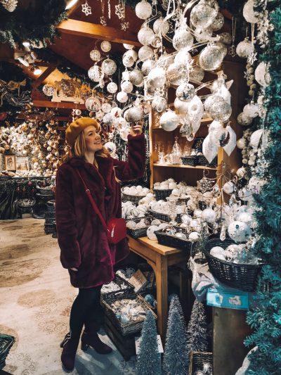 mercatini di Natale a Vienna-sara-palline