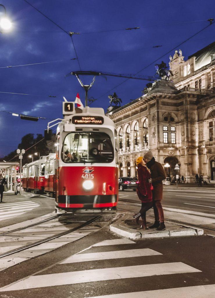 luoghi instagrammabili a Vienna-tram-1