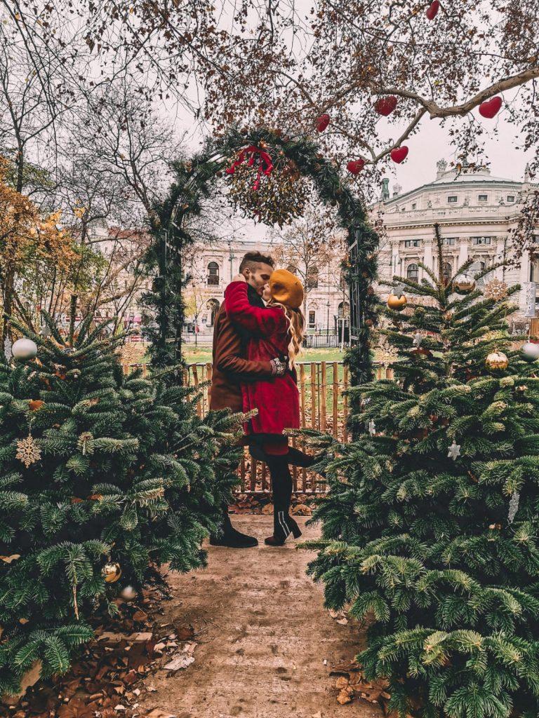 mercatini di Natale a Vienna-rathausplatz-vischio