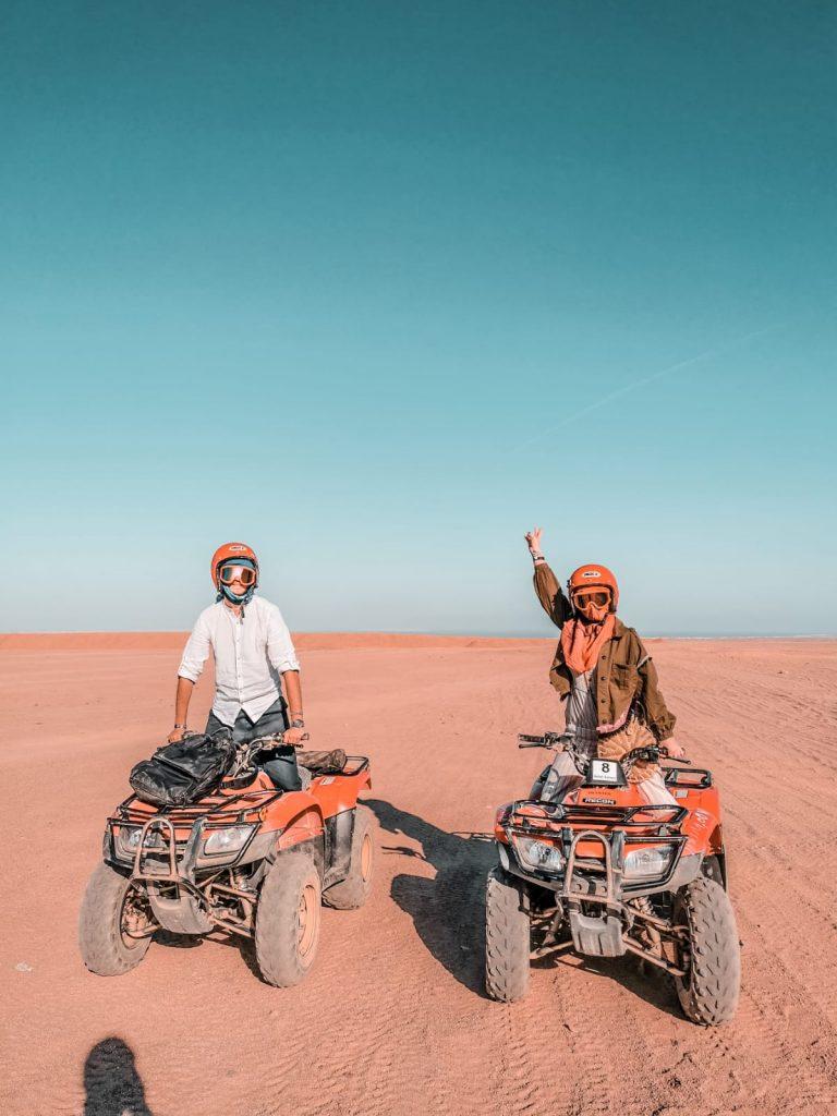 cosa fare a Hurghada-quad-deserto
