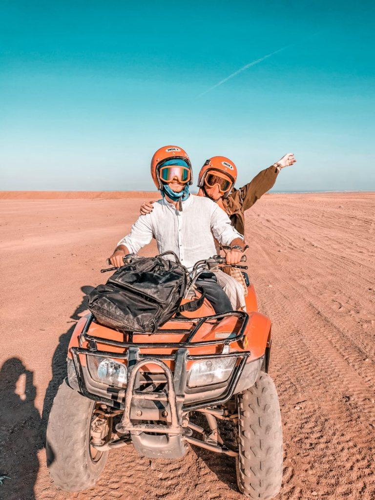 cosa fare a Hurghada-quad