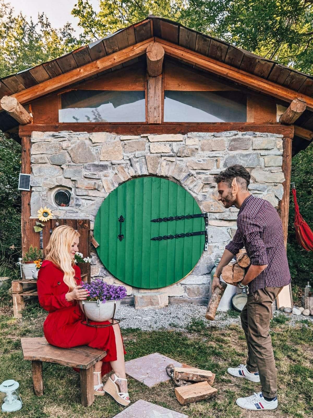 casa hobbit in Italia-esterno-casa-hobbit